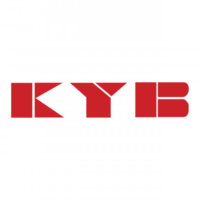 KYB logo red