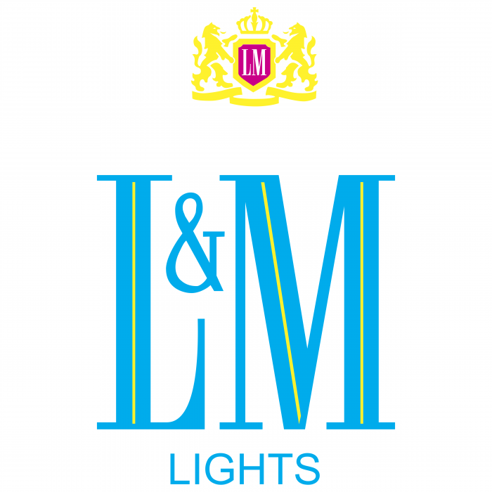 L&M logo lights