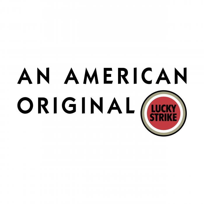 Lucky Strike logo american