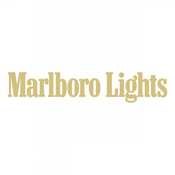 Marlboro Lights logo yellow