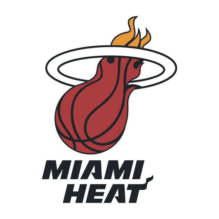 Miami Heat logo bright
