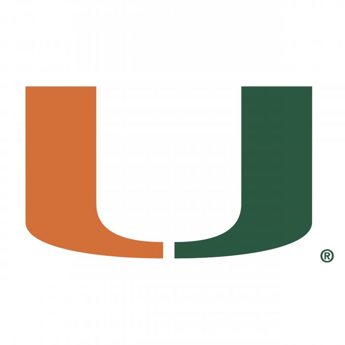 Miami Hurricanes logo U