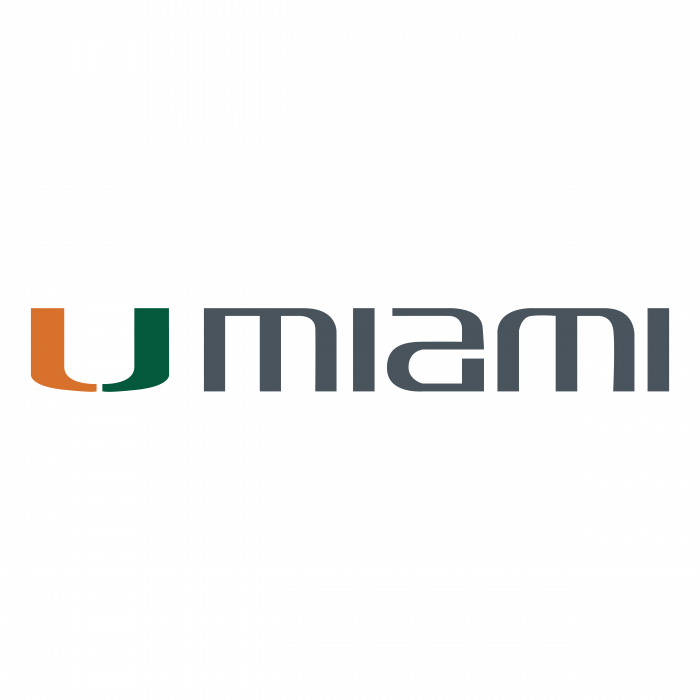 Miami Hurricanes logo words