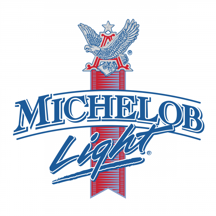 Michelob logo light