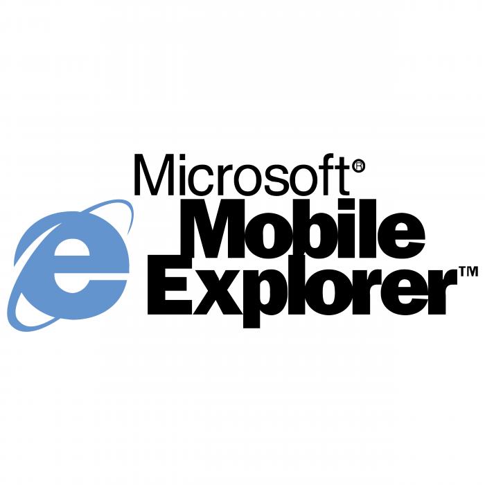 Microsoft Mobile Explorer logo