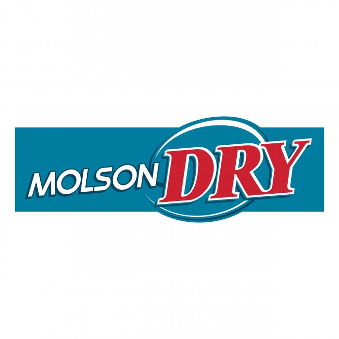 Molson Dry logo classic