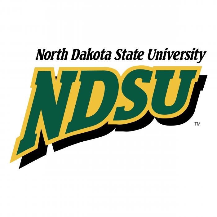 NDSU Bison logo NDSU