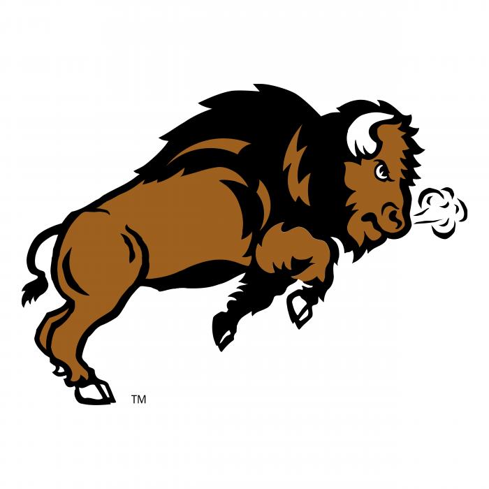 NDSU Bison logo bison