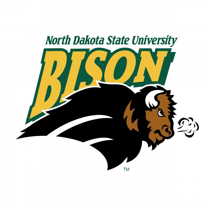 NDSU Bison logo brand