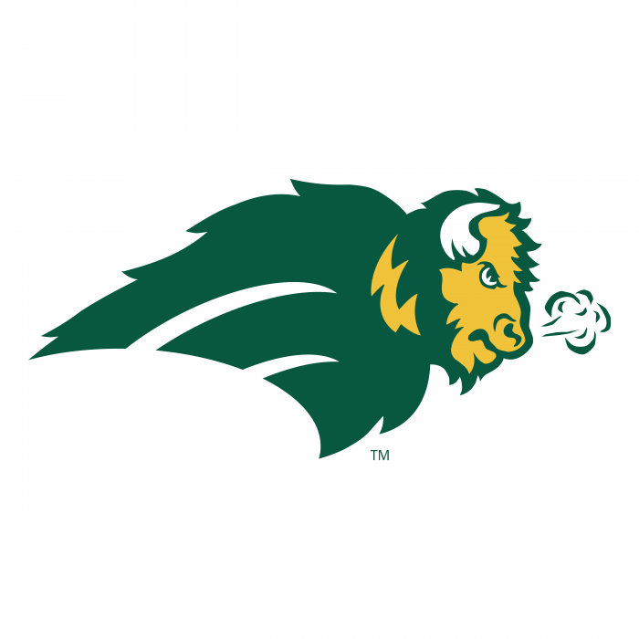 NDSU Bison logo green