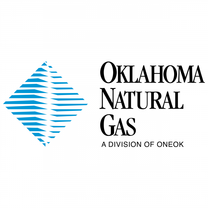 Oklahoma Natural Gas logo blue
