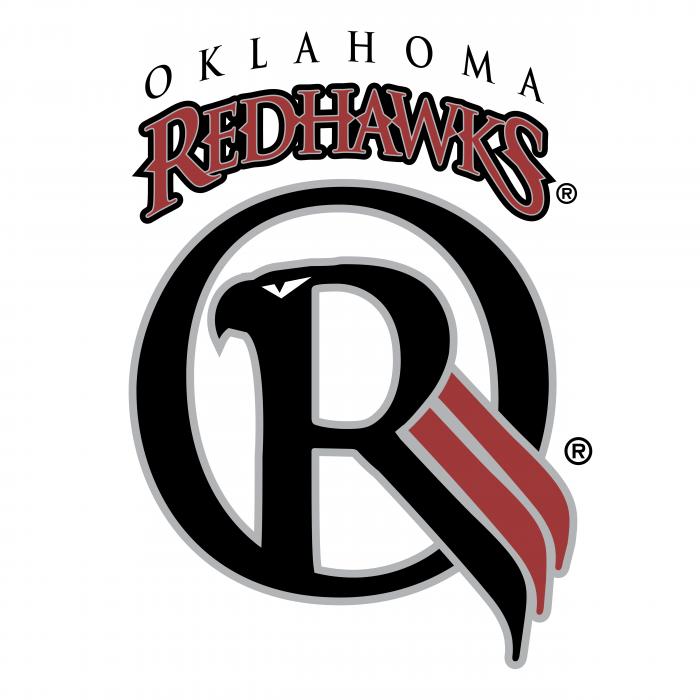 Oklahoma Redhawks logo colored