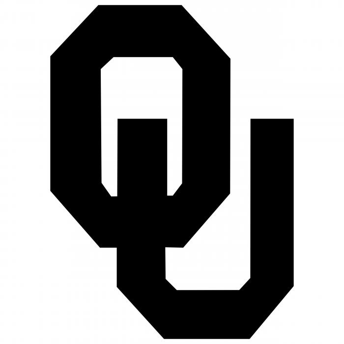 Oklahoma Sooners logo black