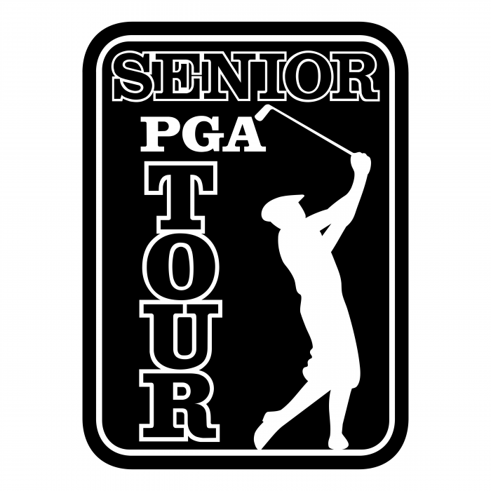 PGA Senior Tour logo black