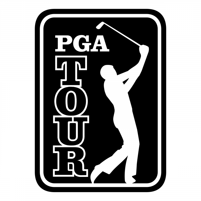 PGA Tour logo black