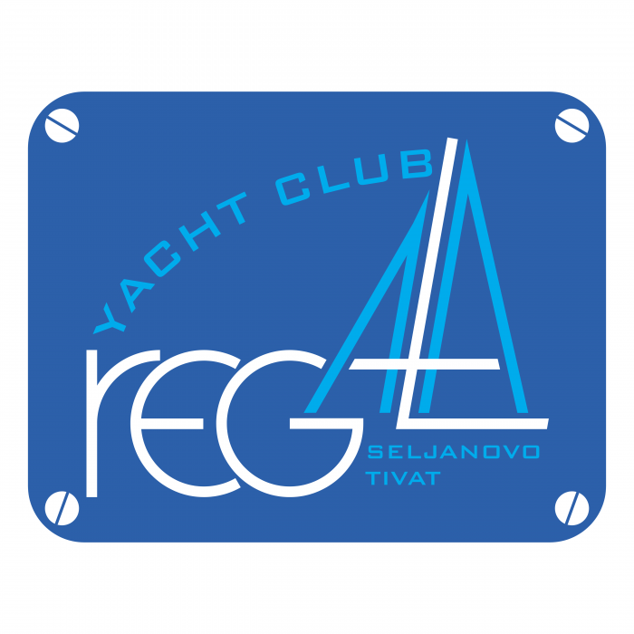 Regata Yacht Club logo blue