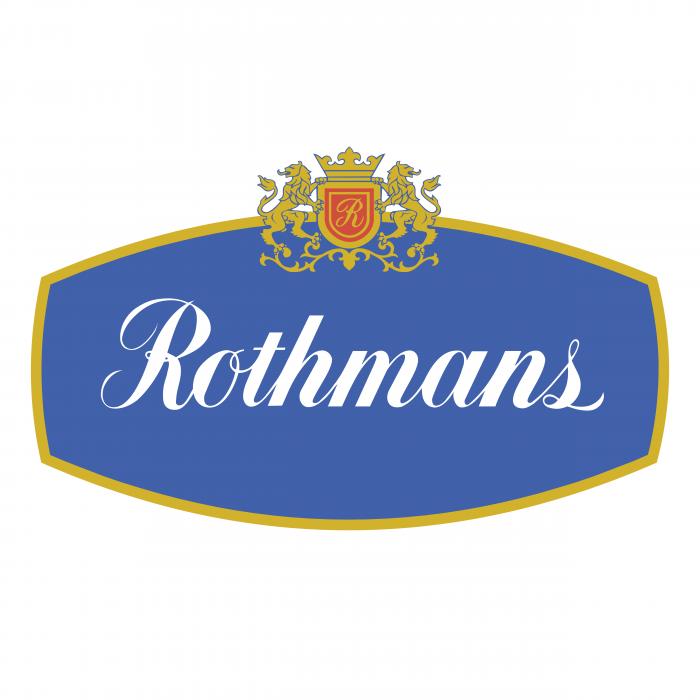 Rothmans logo blue