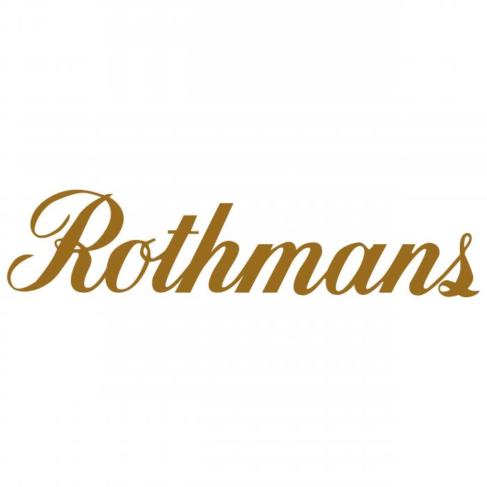 Rothmans logo gold