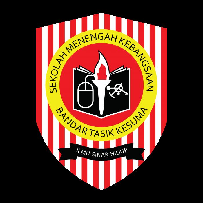 Sekolah Menengah Kebangsaan Bandar Tasik Kesuma logo color