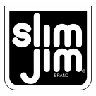 Slim Jim logo black