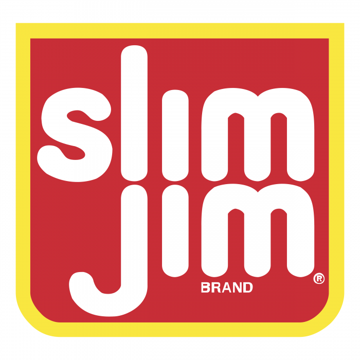 Slim Jim logo red