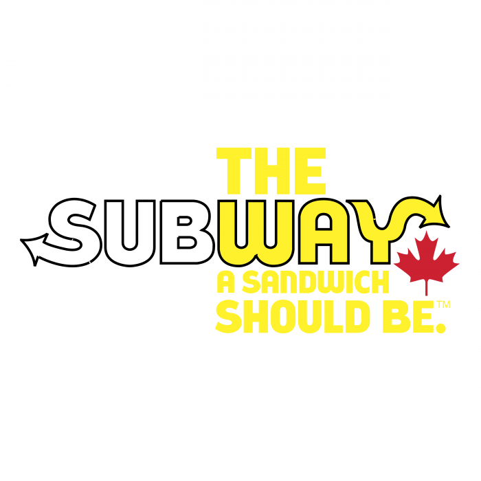 Subway logo yellow
