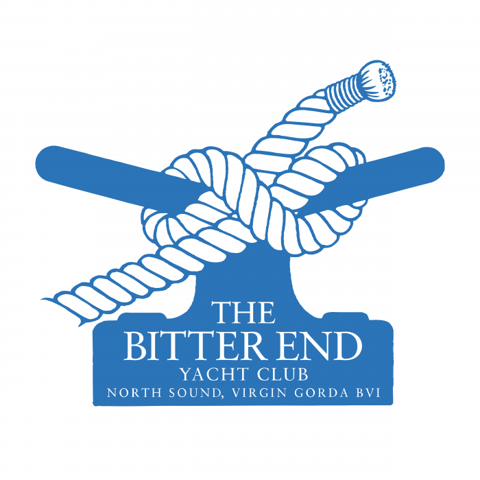 The Bitter End Yacht Club logo blue