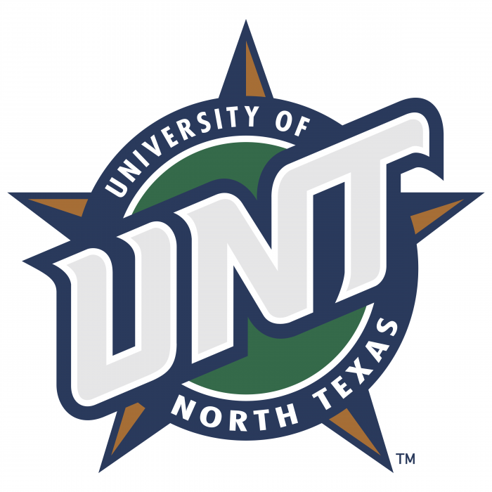 UNT Mean Green logo UNT