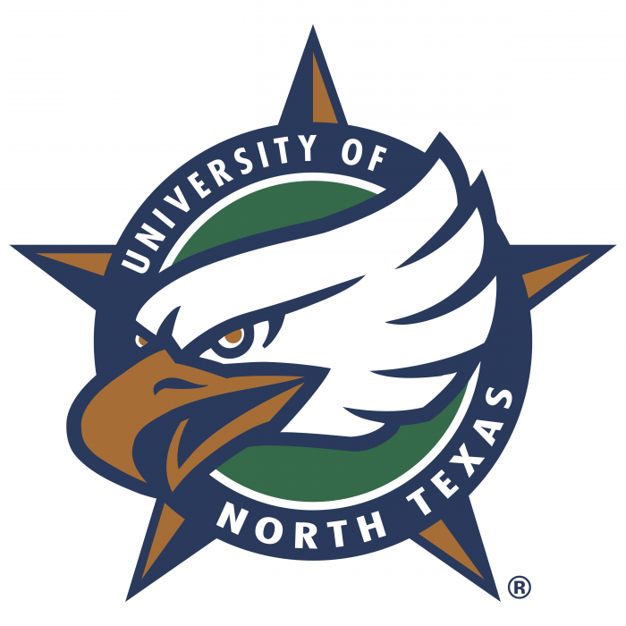UNT Mean Green logo cercle