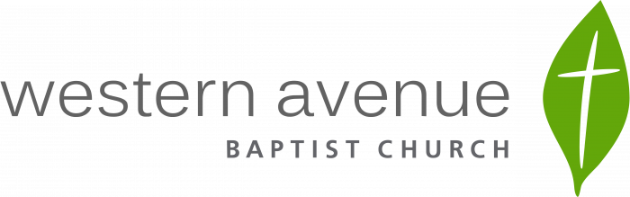 Western Avenue logo church