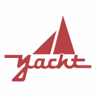 Yacht logo red