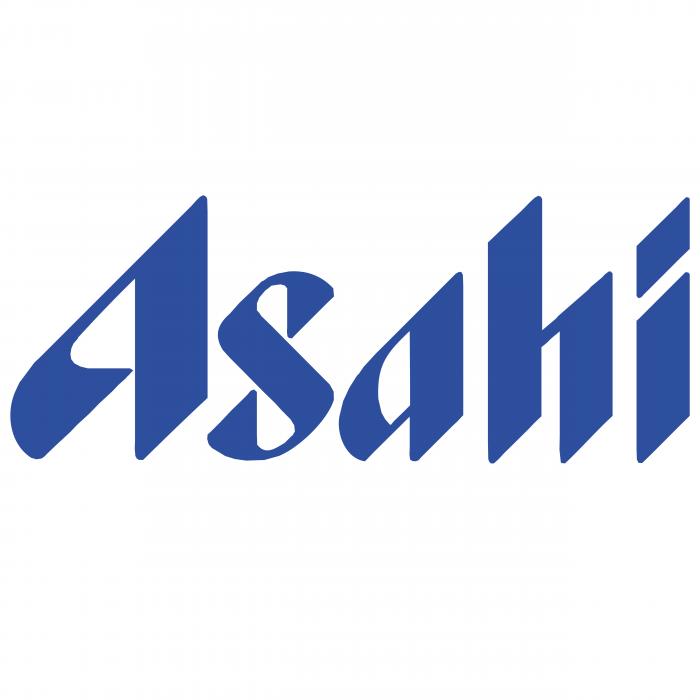 Asahi Breweries logo blue