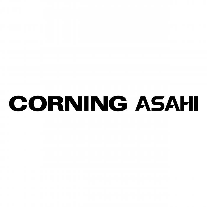 Asahi Corning logo black