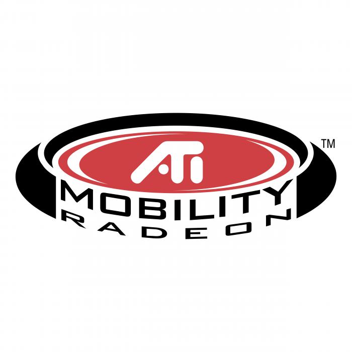 Ati Mobility Radeon logo TM