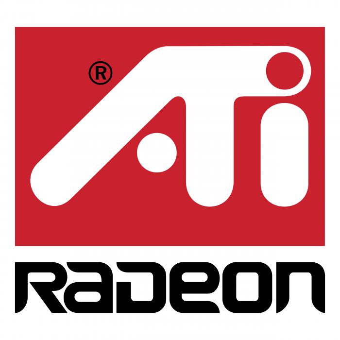 Ati Radeon logo red
