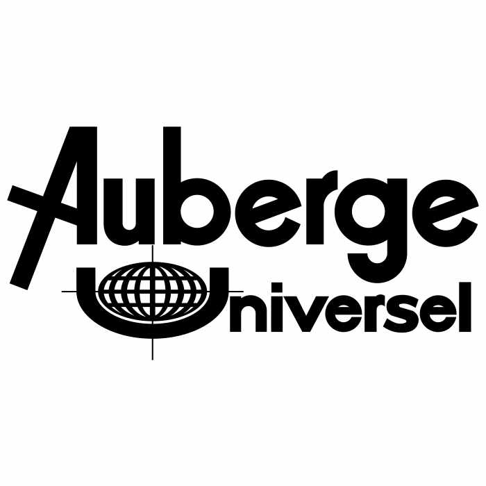 Auberge Universelle logo blue