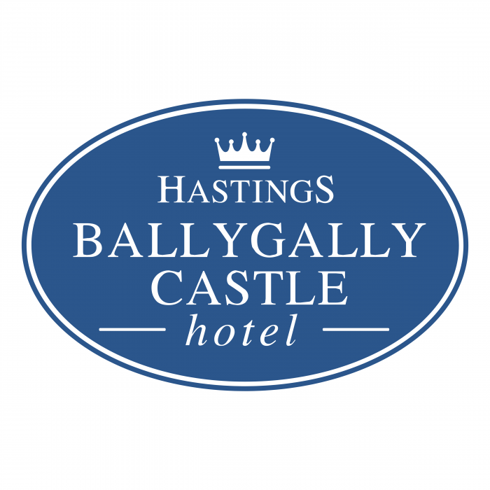 Ballygally Castle Hotel logo blue
