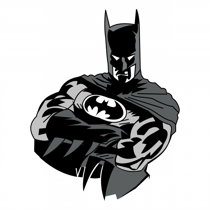 Batman logo man