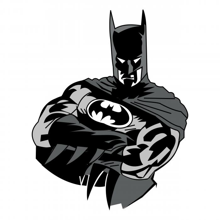 Batman logo man