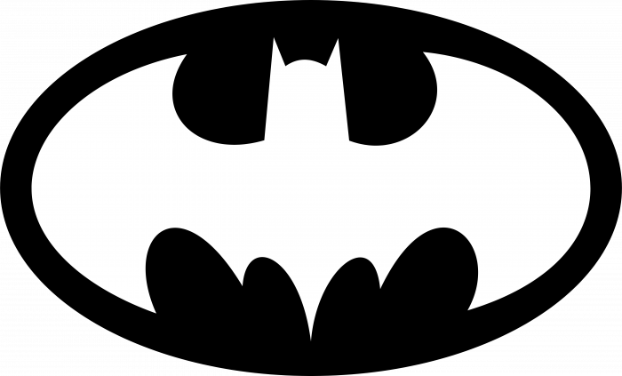 Batman logo oval