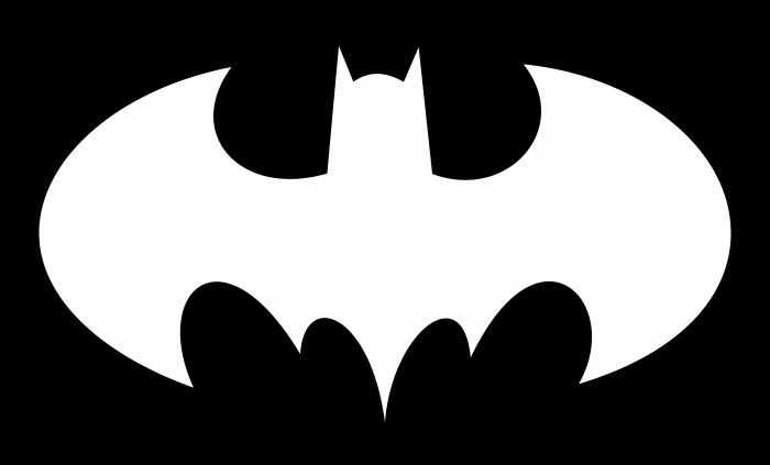Batman logo oval