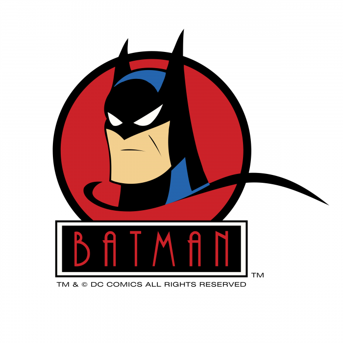 Batman logo red