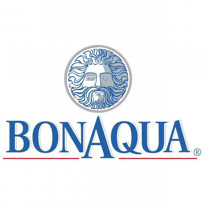BonAqua logo blue