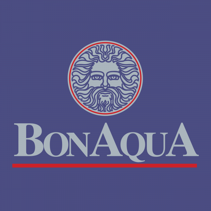 BonAqua logo cube