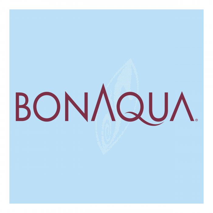 BonAqua logo light