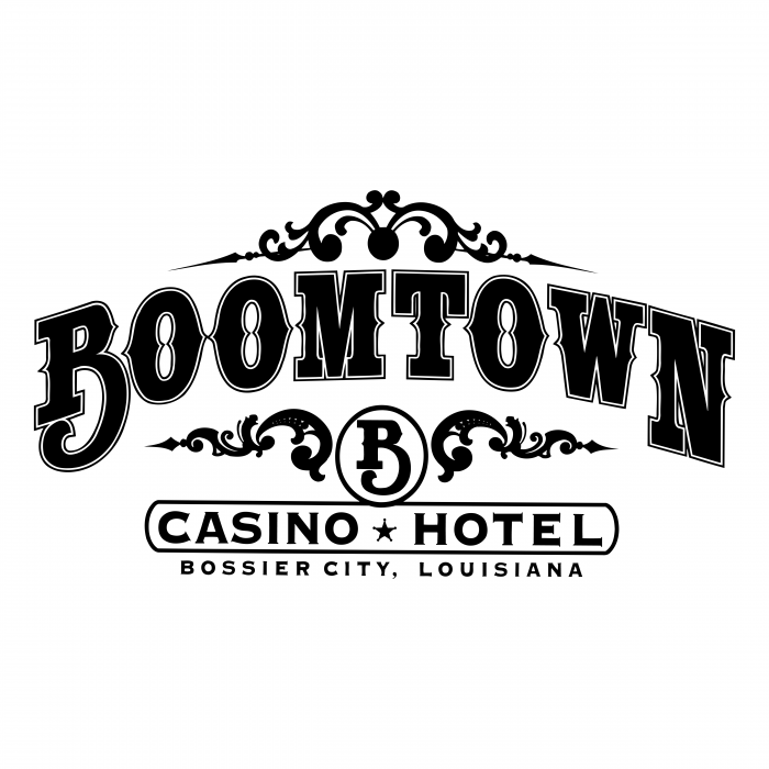 BoomTown logo black