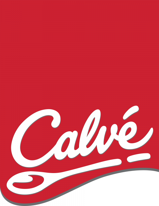 Calve logo label