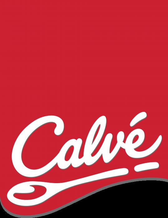 Calve logo label