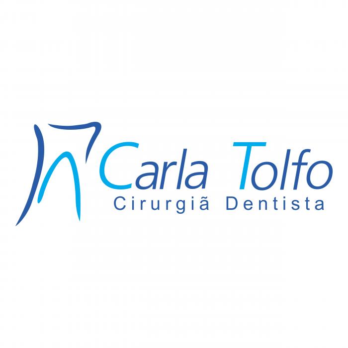 Carla Tolfo logo blue