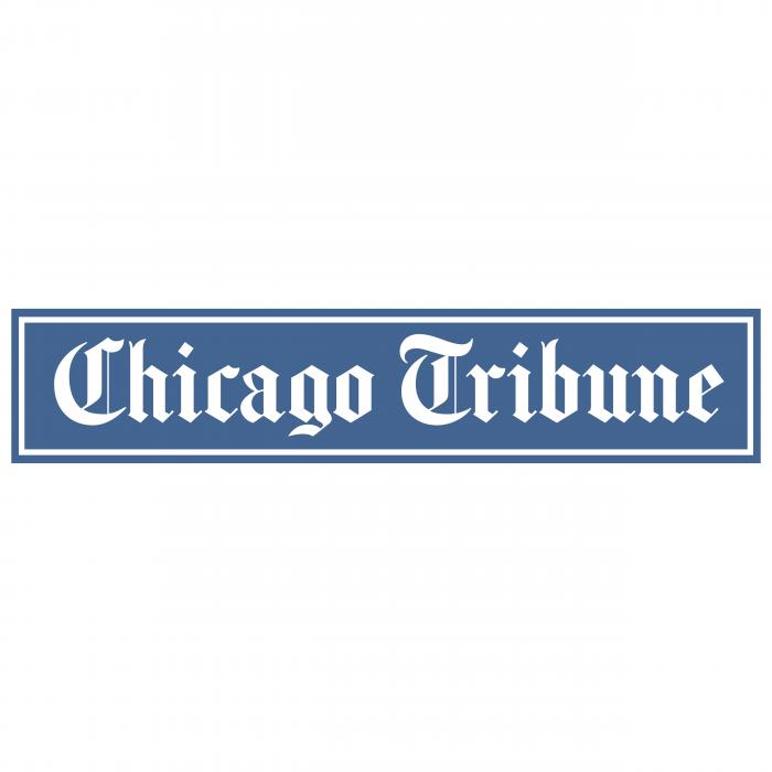 Chicago Tribune logo blue
